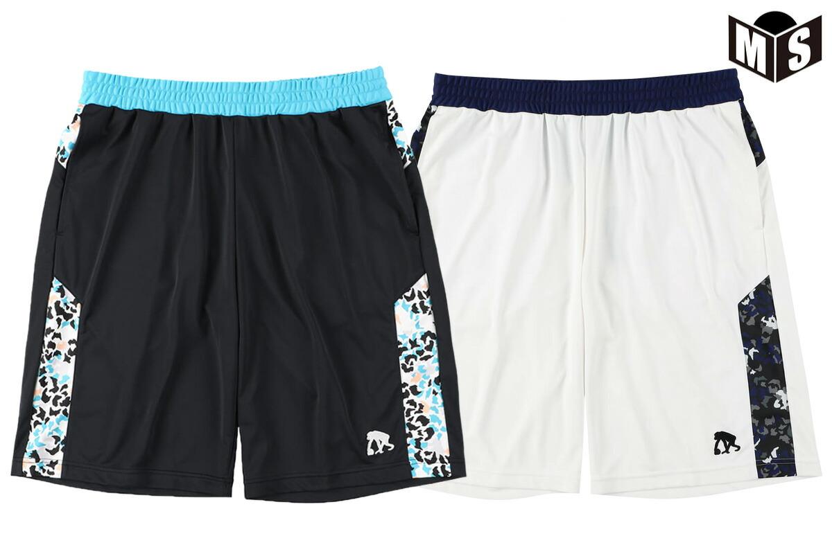 2021春夏モデル【2色展開】エゴザル EGOZARU バスケ パンツ LEOPARD WAIST SWITCHING ショーツ【EZHP-2102】