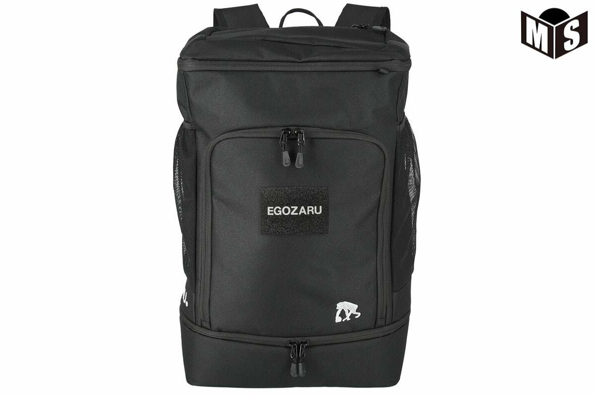 2021春夏モデル エゴザル EGOZARU バスケ リュック ボックスバッグパック40X(ブラック)【EZAC-21X】