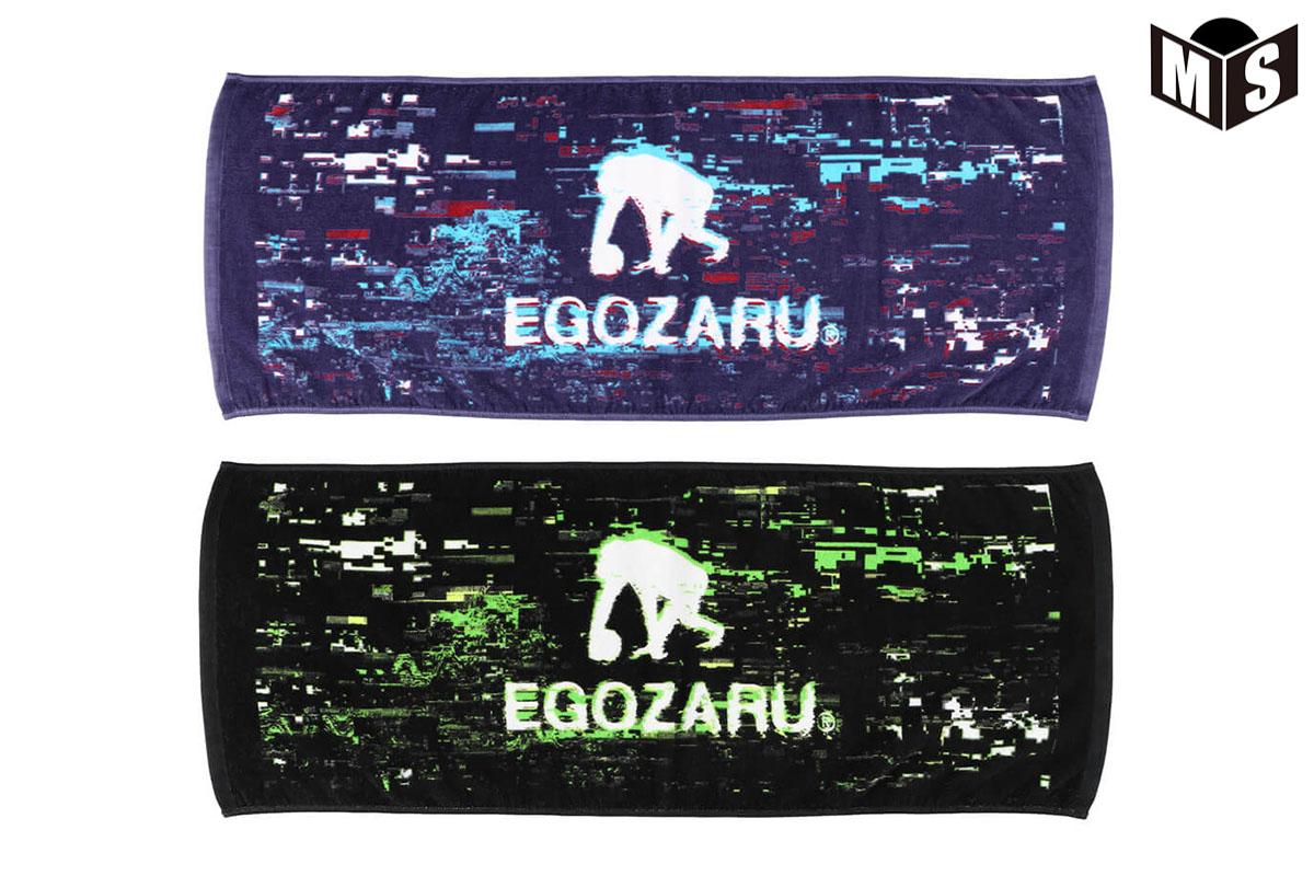 2021春夏モデル【2色展開】エゴザル EGOZARU バスケ 記念品 STATIC FACEフェイスタオル【EZAC-2106】