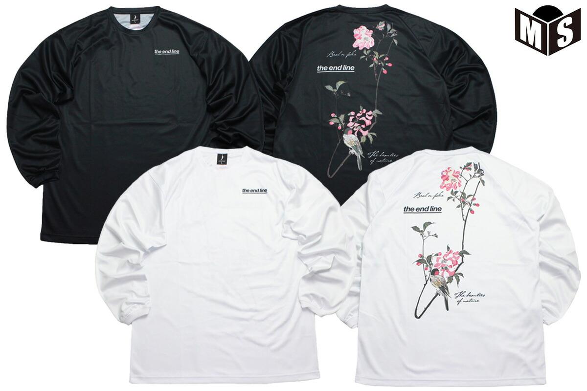【2色展開】インザペイント×ザエンドライン IN THE PAINT×the end line バスケ ロンt BEAUTIES OF NATURE PHOTO ロングTシャツ【EL-2019】