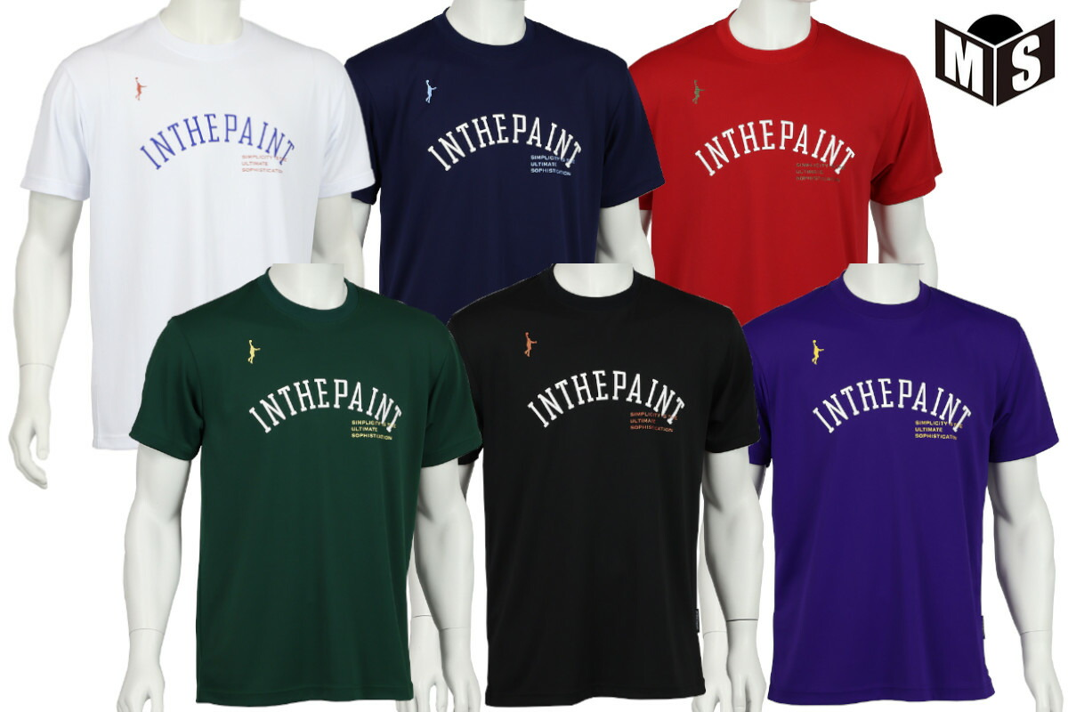 2021春夏モデル【5色展開】インザペイント IN THE PAINT バスケ tシャツ Tシャツ【ITP21303】