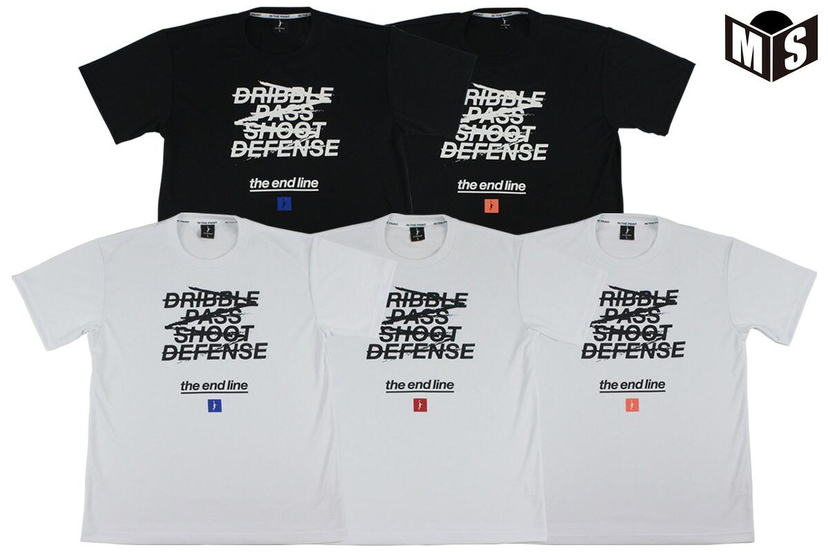 【5色展開】インザペイント×ザエンドライン IN THE PAINT×the end line バスケ tシャツ PANISHMENT Tシャツ【EL-2002】