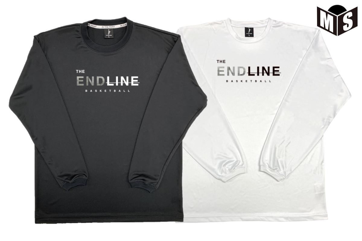 【2色展開】インザペイント×ザエンドライン IN THE PAINT×the end line バスケ ロンt CEMENT ロングTシャツ【EL-2024】