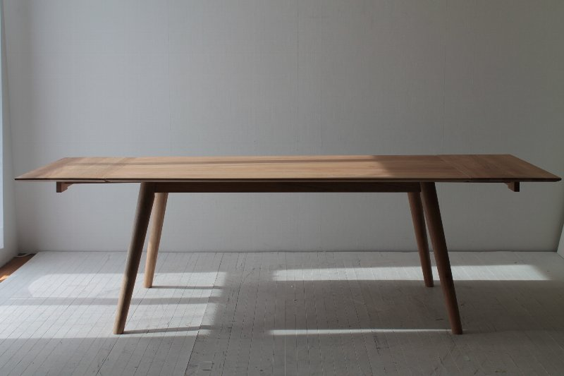 Norte Extensible Dining Table 160 240 Cm Wide Nordic Style Dining