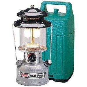 Coleman dual fuel lantern for Coleman s fish market