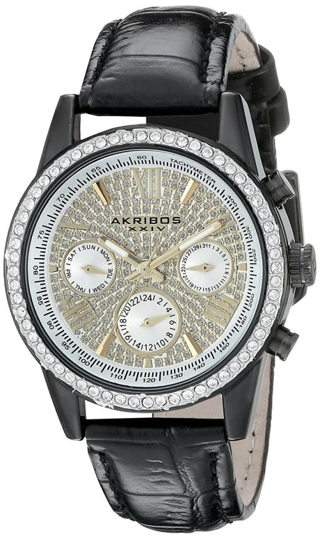8d9b404d72b3 アクリボス Akribos XXIV 女性用 腕時計 レディース ウォッチ シルバー AK871BK 送料無料 【並行輸入品】 アクリボス  Akribos XXIV 腕時計 ウォッチ 時計 スイス
