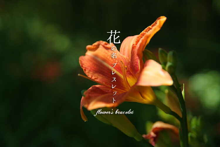 花のブレスレット