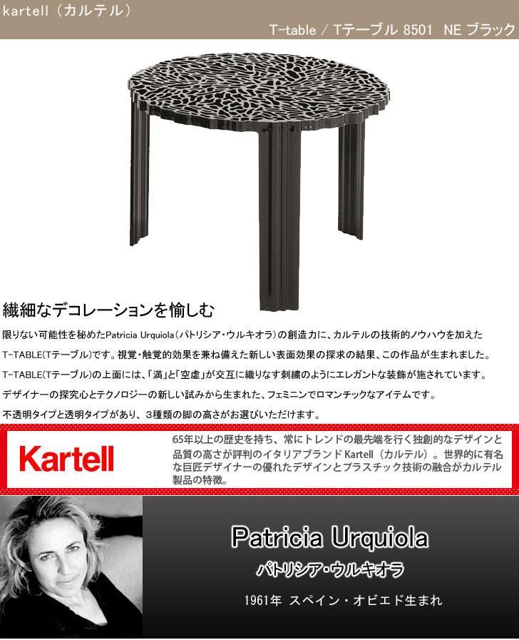 カルテル Tテーブル