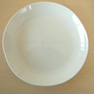 白山陶器 シェル F 白磁 小皿