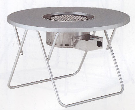 グリルテーブル アルミ