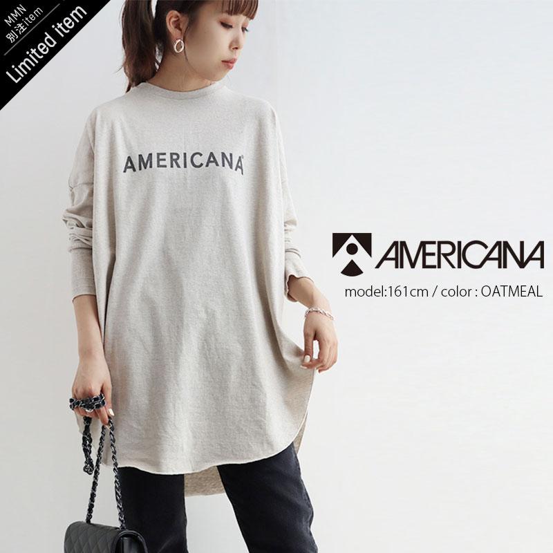 AMERICANAロゴロンT