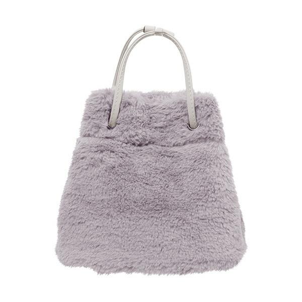 エコファー巾着バッグ [B1219]