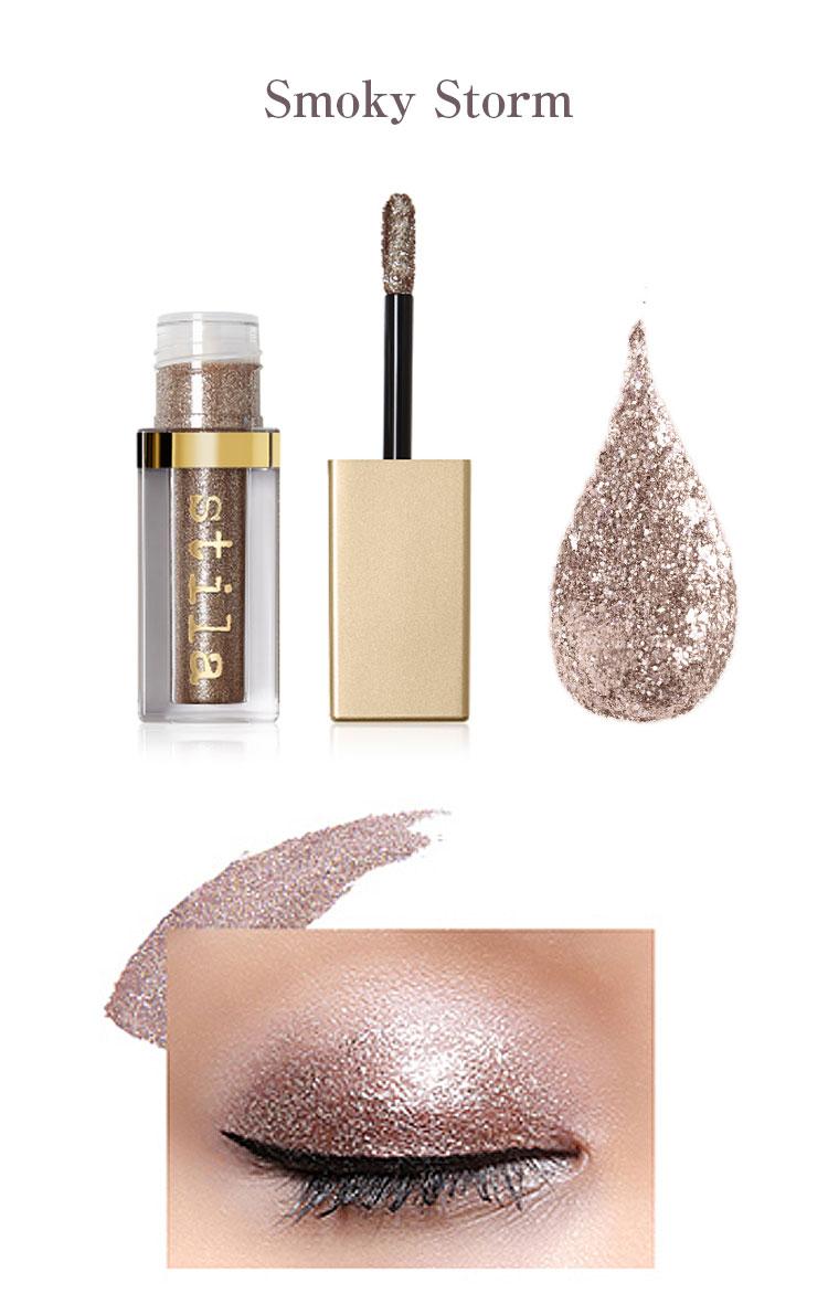 化粧品 stila スティラ パールとグリッターの黄金比率で輝く目元 グリッター グロウリキッドアイシャドウ コスメ Y277