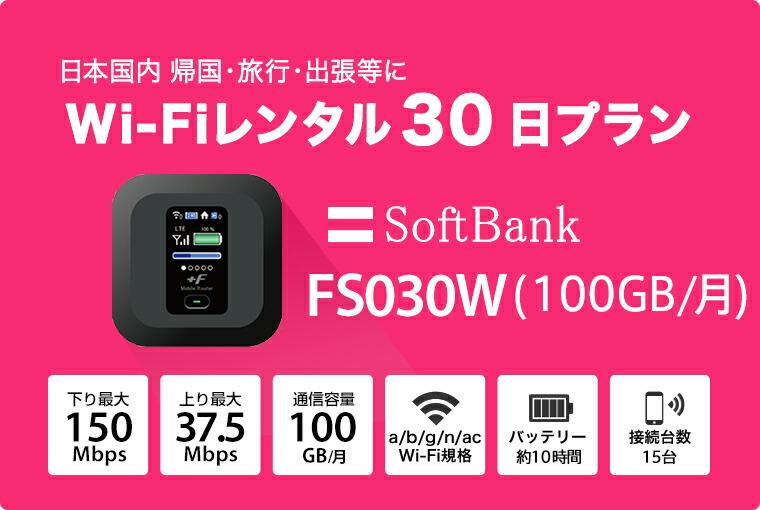 Softbank fs030w