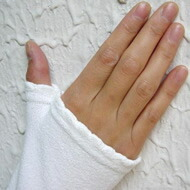 手の甲側部分