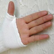 手のひら側部分