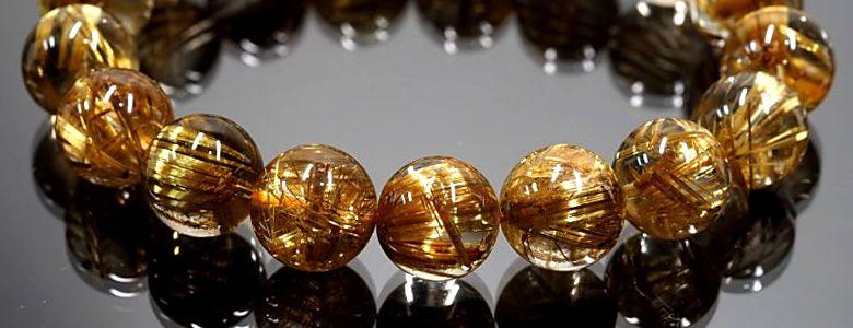 ゴールド(金色)の天然石特集