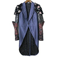 COMME des GARCONS HOMME PLUS 16AW ジャガードアーム切替甲冑コート