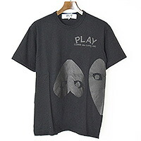 PLAY COMME des GARCONS AD2016 リバースハートプリントTシャツ