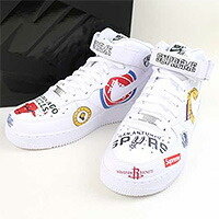NIKE×SUPREME 18SS NBA TEAMS AIR FORCE 1 MID 07'
