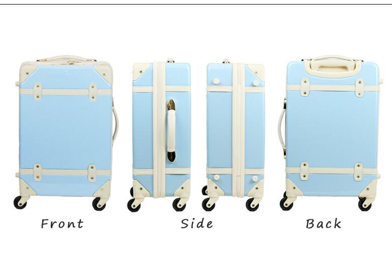 当店人気のエンボス加工のスーツケースの艶ありタイプとして登場