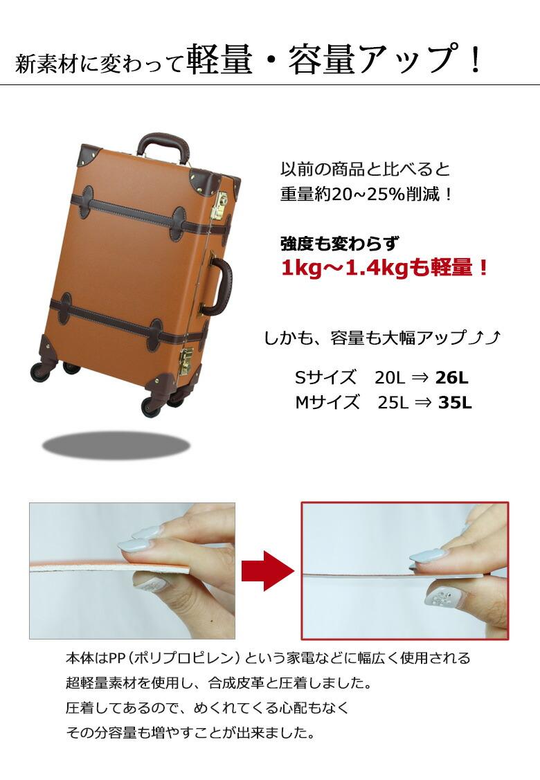Combination Type キャリーバッグ3日、4日、5日用の大型キャリーケースLサイズです。