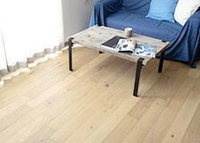 天然木使用フロアタイルKINO床材
