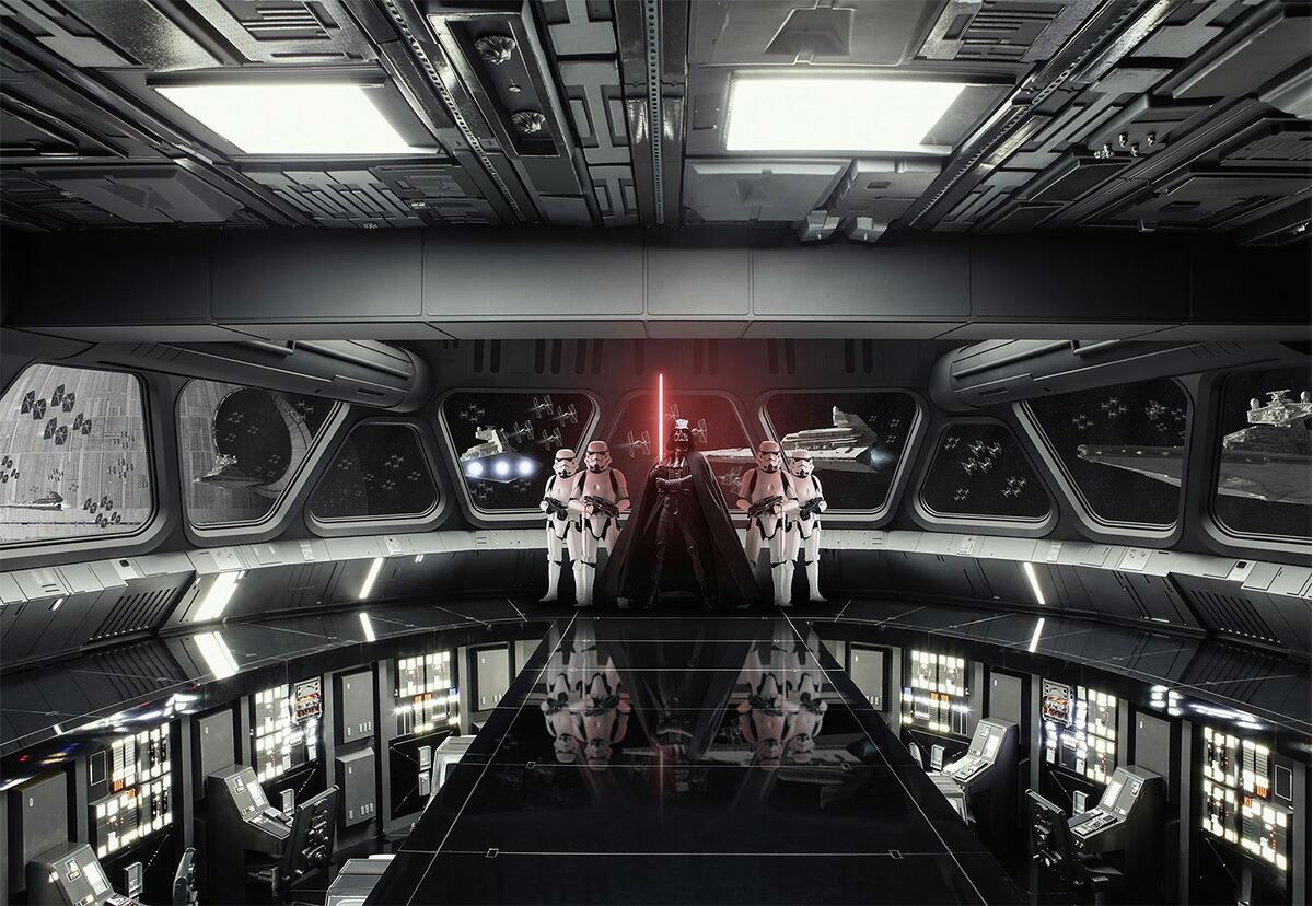 ドイツ製インポート壁紙 8 445 Star Wars Destroyer 間口 750mm
