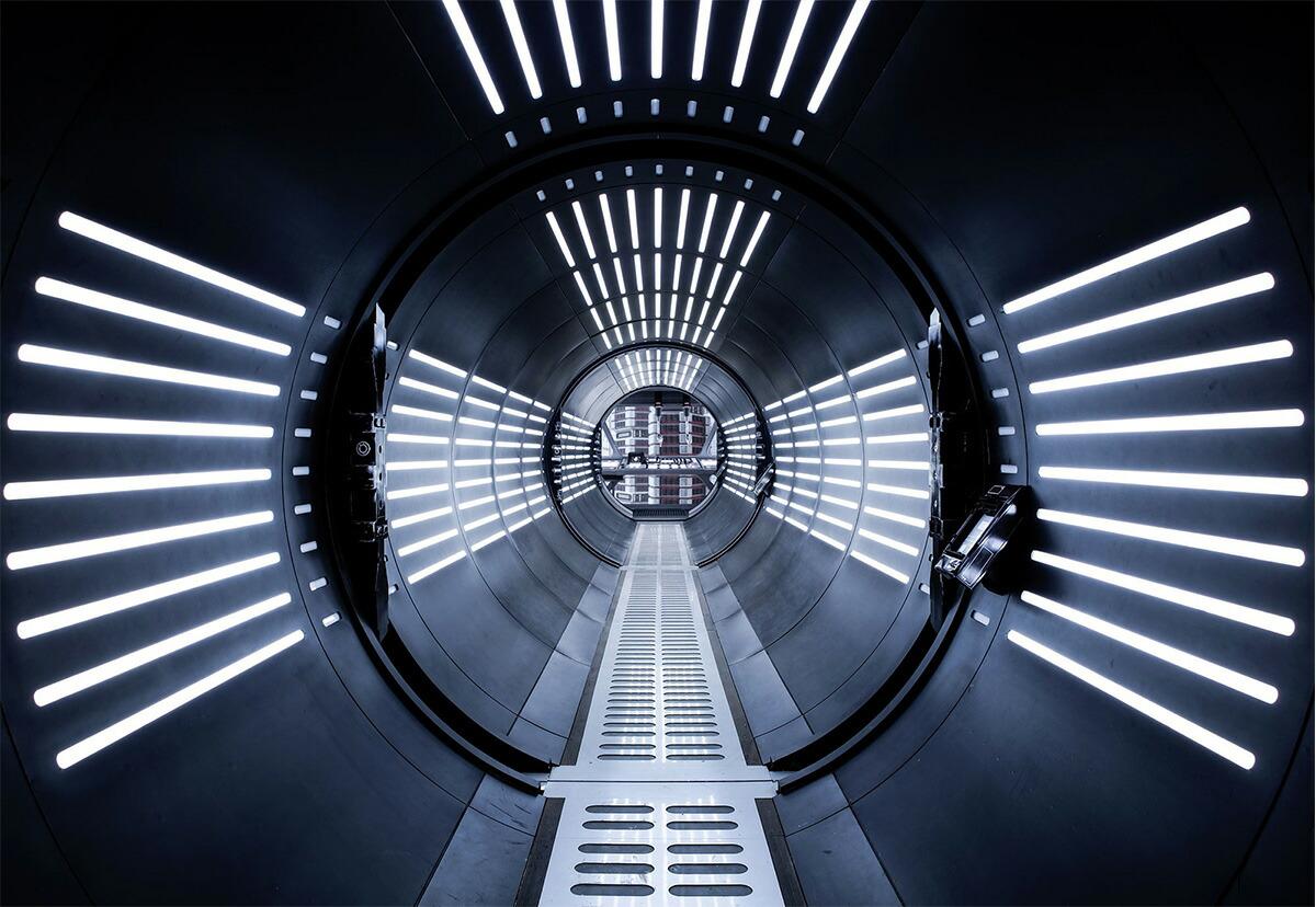 楽天市場 ドイツ製インポート壁紙 8 455 Star Wars Tunnel 即納