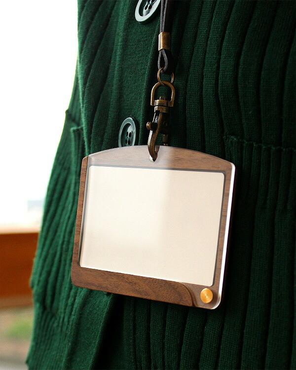 おしゃれな木製のIDカードケース・IDカードホルダー