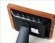 Hacoaデザインの、木製デジタルフォトフレーム「DIgital Photo Frame3.5inch」