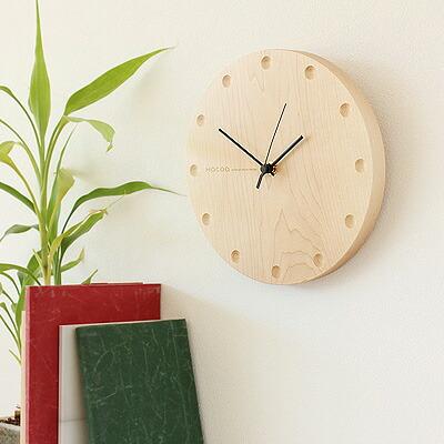 木製時計「WallClock Round」