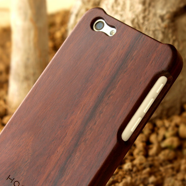 手作り感を活かした無垢のiPhone5c対応木製iPhoneケース