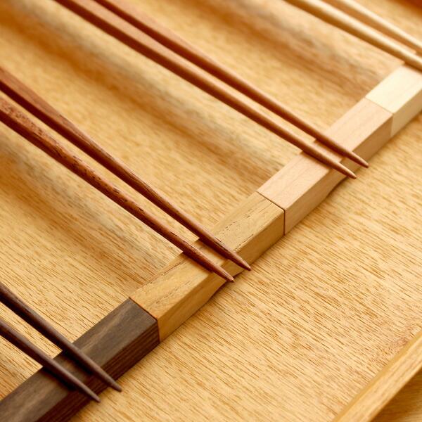 木製の箸置き