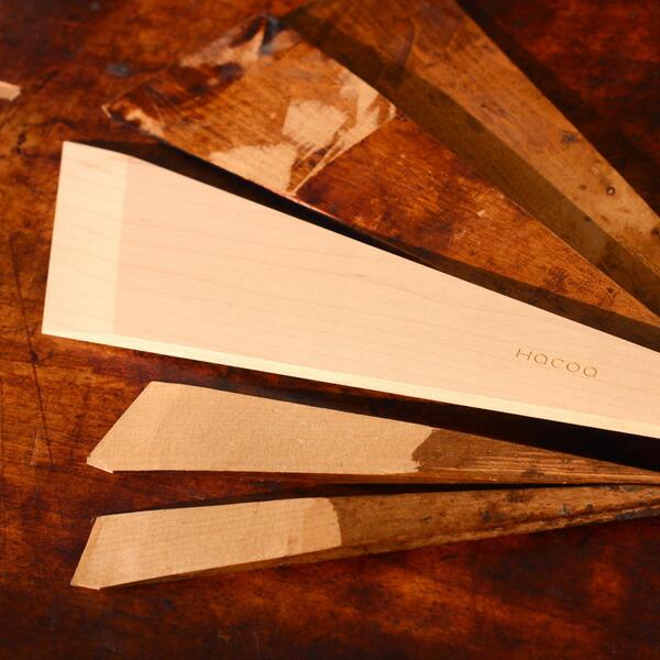 職人の道具からデザインされた使いやすい木べら