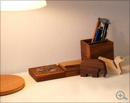 北欧風のデザイン木製のUSBフラッシュメモリ
