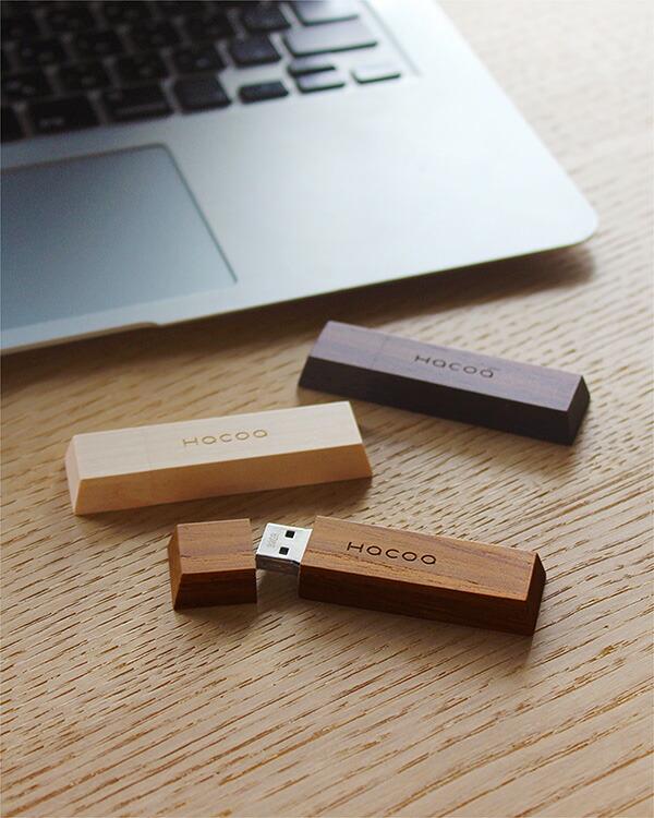 お菓子のようにかわいい木製のUSBフラッシュメモリ