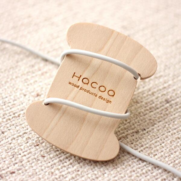 糸巻きのかたちをした木製コードリール