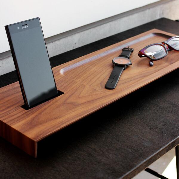 Xperia専用木製スマートフォンステーション