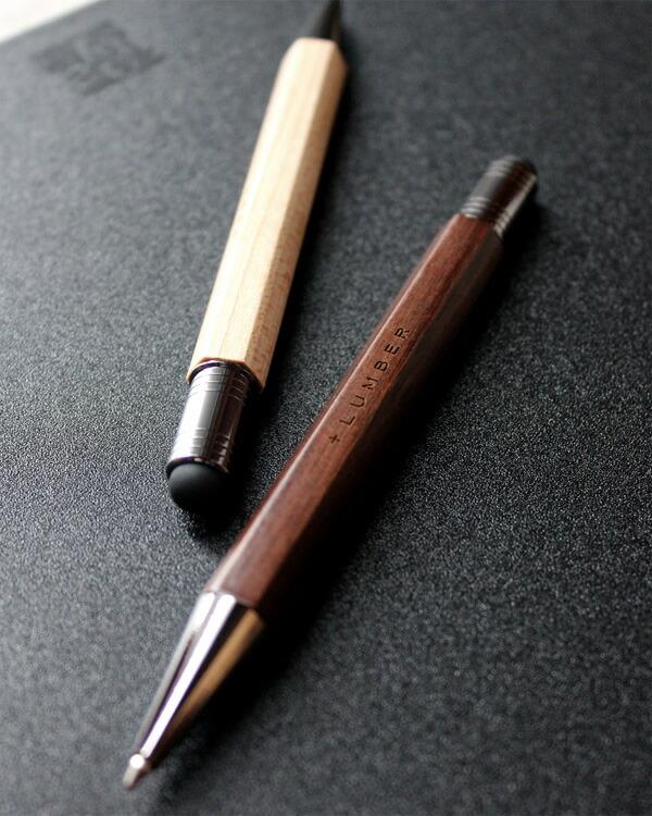 使う度に艶が出る木製タッチ&ボールペン「CLASSIC BALLPOINT WITH TOUCH PEN」