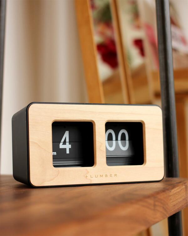 パタパタとめくれるレトロなフリップ時計「FLIP CLOCK DESK TYPE」