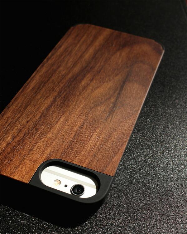 ハードケースと天然木を融合したiPhone 6 Plus/6s Plus専用ケース