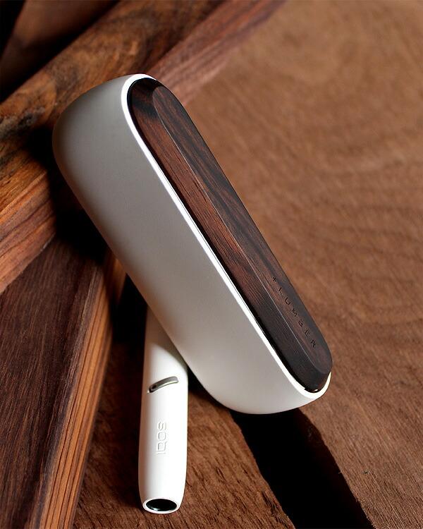 おしゃれなIQOS3用木製ドアカバー「IQOS3 DOOR COVER(黒檀)」
