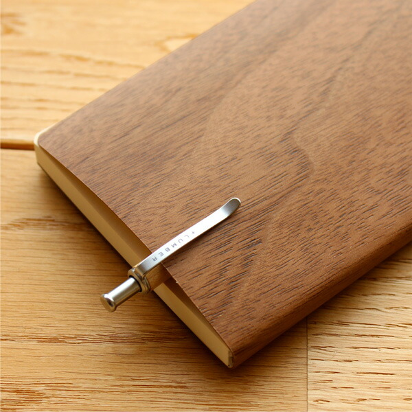天然木の表紙がおしゃれな木製ノートブック・メモ帳「NOTEBOOK MINI」