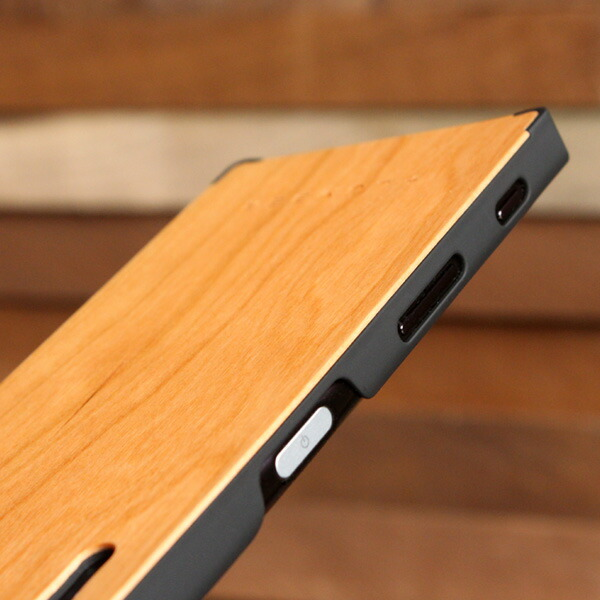 Xperia XZ木製スマートフォンケース