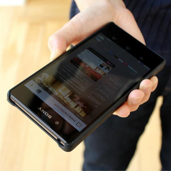 Xperia Z4+木製スマートフォンケース
