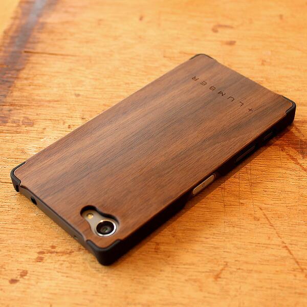 Xperia Z5 Compact木製スマートフォンケース