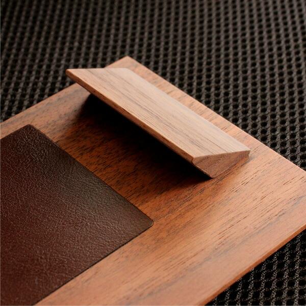 �石�開閉�る木製クリップボード