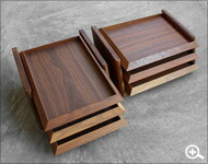 書斎にあるべき木製書箱