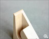 Hacoaデザインの、木製テープカッター